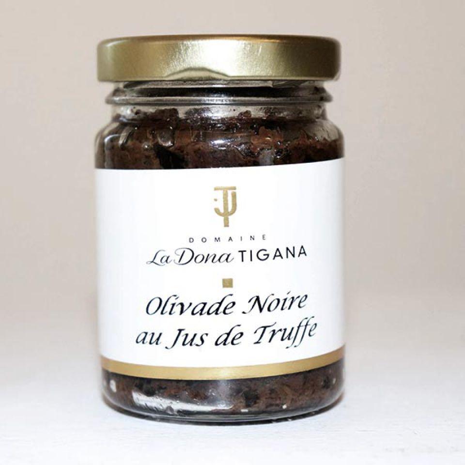 Olivade noire au jus de truffe 180gr